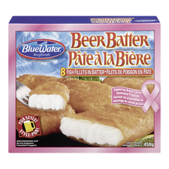 BlueWater Beer Batter Fillets (450g)  - Urbery