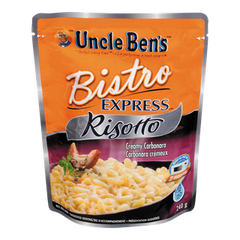 Uncle Ben's Bistro Express Risotto Creamy Carbonara (240g)  - Urbery