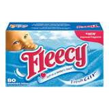Fleecy Dryer Sheets, Fresh Air (80sh)