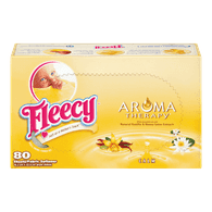 Fleecy Dryer Sheets, Aroma Therapy Calm (80sh)  - Urbery