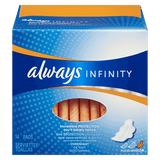 Always Maxi Pad Infinity Overnight With Wings (14ea)