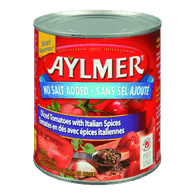 Aylmer Diced Tomatoes With Italian Spices (796mL)  - Urbery