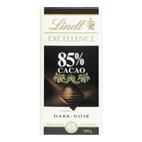 Lindt Excellence 85% Cacao (100g)  - Urbery