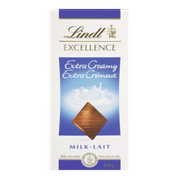 Lindt Excellence Extra Creamy (100g)  - Urbery