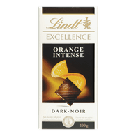 Lindt Excellence Intense Orange (100g)  - Urbery