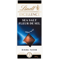 Lindt Excellence Sea Salt (100g)  - Urbery