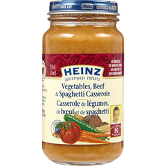 Heinz Jr Baby Food Beef & Spaghetti (213mL)  - Urbery