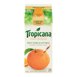 Tropicana Pure Premium JUice Grovestand Lots of Pulp (1.75L)