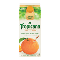 Tropicana Pure Premium JUice Grovestand Lots of Pulp (1.75L)  - Urbery