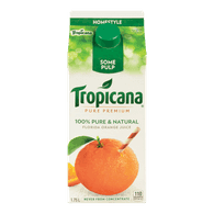Tropicana Pure Premium Orange Juice Homestyle Some Pulp (1.75L)  - Urbery