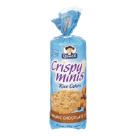 Quaker Rice Cakes, Caramel Chocolate Chip (199g)  - Urbery