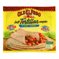 Old El Paso Soft Tortillas, Large (334g)  - Urbery