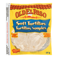 Old El Paso Soft Tortillas, Medium (297g)  - Urbery