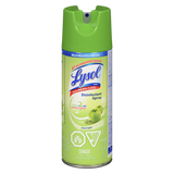 Lysol Disinfecting Spray, Green Apple (350g)