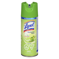 Lysol Disinfecting Spray, Green Apple (350g)  - Urbery