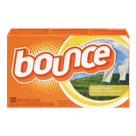 Bounce Dryer Sheets, Outdoor Fresh (120sh)  - Urbery