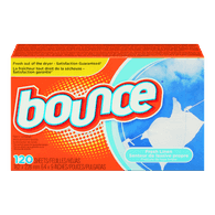 Bounce Dryer Sheets, Fresh Linen (120sh)  - Urbery