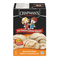 Chapman's Original Ice Cream Butterscotch Ripple (2L)