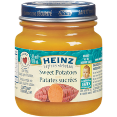 Heinz Beginner Baby Food Sweet Potatoes (128mL)  - Urbery