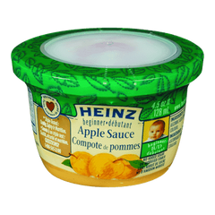 Heinz Beginner Baby Food Apple Sauce (128mL)  - Urbery