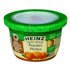 Heinz Beginner Peaches (128ml)  - Urbery