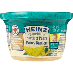 Heinz Beginner Baby Food Bartlett Pears (128ml)  - Urbery