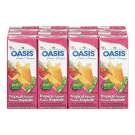 Oasis Classic Juice Tropical Passion Juice (8x200mL)  - Urbery
