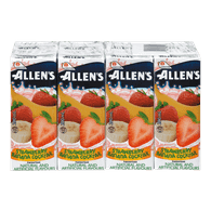 Allen's Juice Strawberry Banana Cocktail (8x200mL)  - Urbery