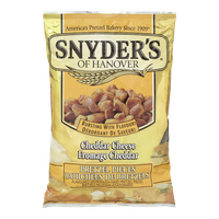 Snyders Pretzel Pieces, Cheddar Cheese (240g)  - Urbery