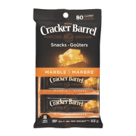 Kraft Cracker Barrel Cheese Snacks Marble Cheddar (168g)