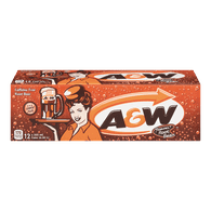 A&W Root Beer (12X355ML)  - Urbery