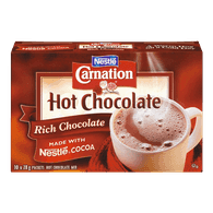 Carnation Hot Chocolate Packets, Rich (10x28g)  - Urbery