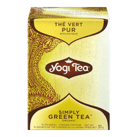 Yogi Simply Green Tea (16ea)  - Urbery