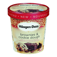 Haagen-Dazs Ice Cream, Brownies & Cookie Dough (500ml)