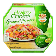 Healthy Choice Gourmet Steamers, Pineapple Chicken (298g)  - Urbery