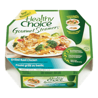 Healthy Choice Gourmet Steamers, Grilled Basil Chicken (301g)  - Urbery
