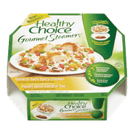 Healthy Choice Gourmet Steamers, General Tao's Spicy Chicken (306g)  - Urbery