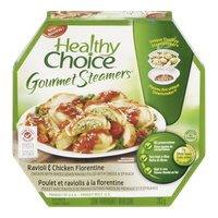 Healthy Choice Gourmet Steamers, Ravioli & Chicken Florentine (283g)  - Urbery