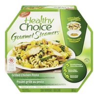 Healthy Choice Gourmet Steamers, Grilled Chicken Pesto (301g)