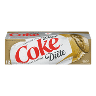 Diet Coke, Caffeine Free (12X355ML)  - Urbery