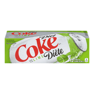 Diet Coke with Lime (12X355ML)  - Urbery