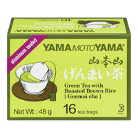 Green Tea with Roasted Brown Rice (Genmaicha) (16ea)  - Urbery