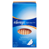 Always Maxi Pads Infinity Overnight With Wings (28ea)
