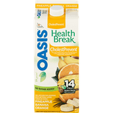 Oasis Health Break CholestPrevent Juice Pineapple Banana Orange (1.75L)