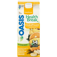 Oasis Health Break CholestPrevent Juice Pineapple Banana Orange (1.75L)  - Urbery