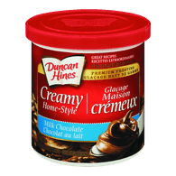Duncan Hines Creamy Home-Style Frosting, Milk Chocolate (450g)  - Urbery