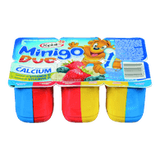 Yoplait Minigo Duo, Blueberry/Strawberry/Banana (6x60g)