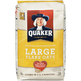 Quaker Oats, Large Flakes (1kg)