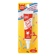 Cake Mate Decorating Gel, Red (19g)  - Urbery