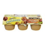 Mott's Fruitsations, Unsweetened Peach Medley (6x111g)
